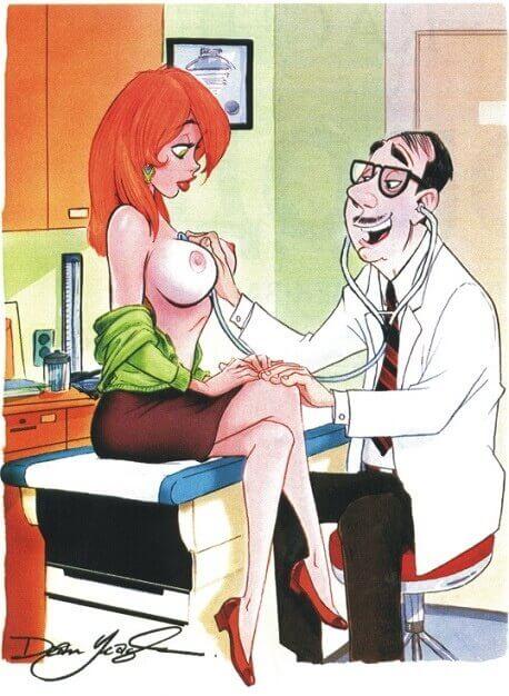 На приёме у врача