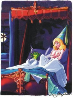 В постели с лягушонком