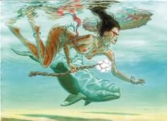 Принцесса в подводном царстве