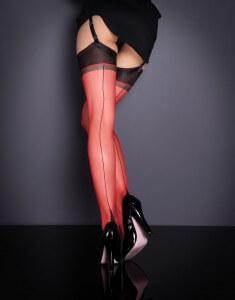 Ножки в красных чулках