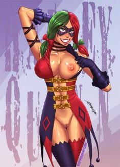 Бойкая Harley Quinn