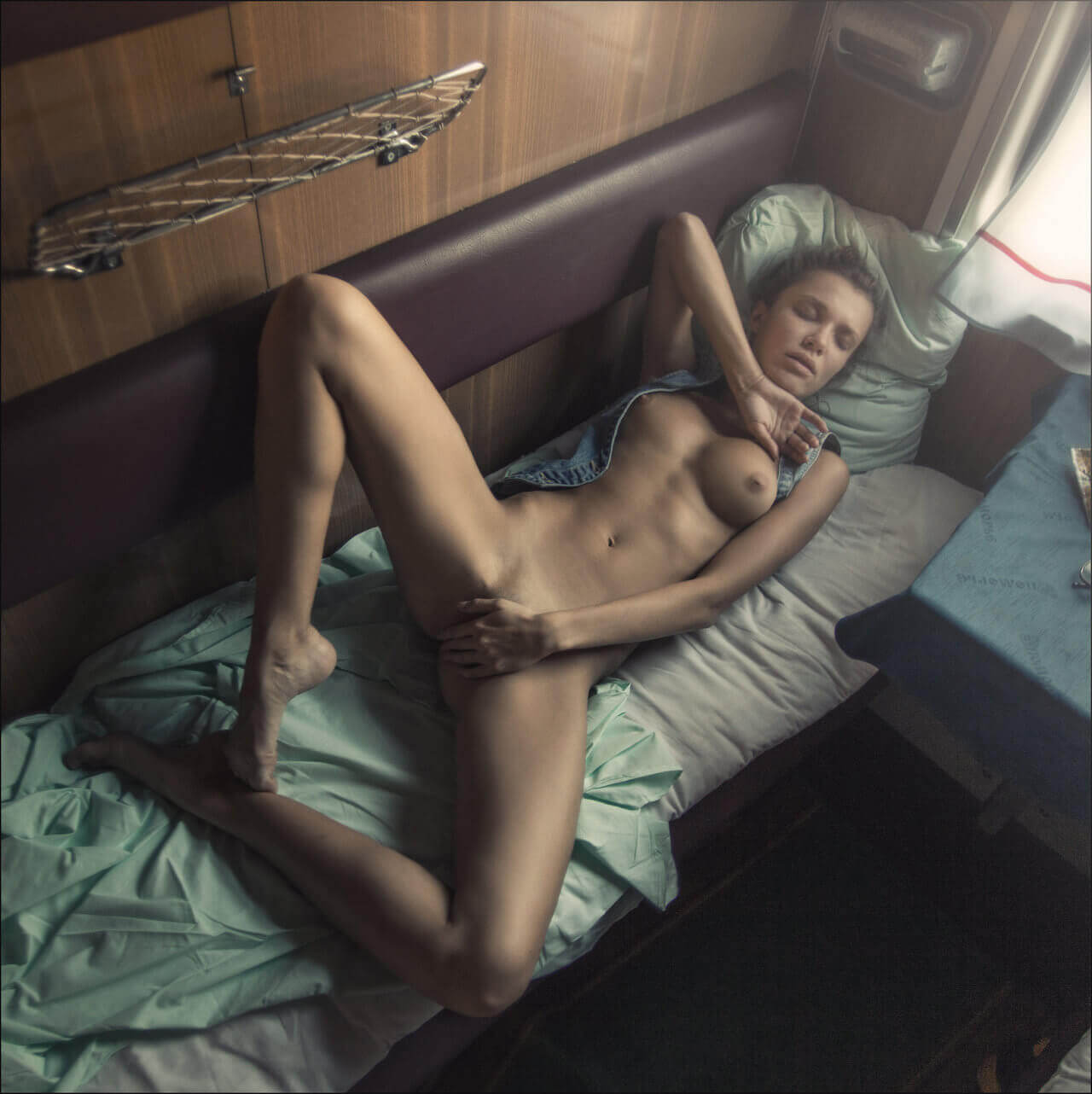 Секс в спальном вагоне фото 13-185