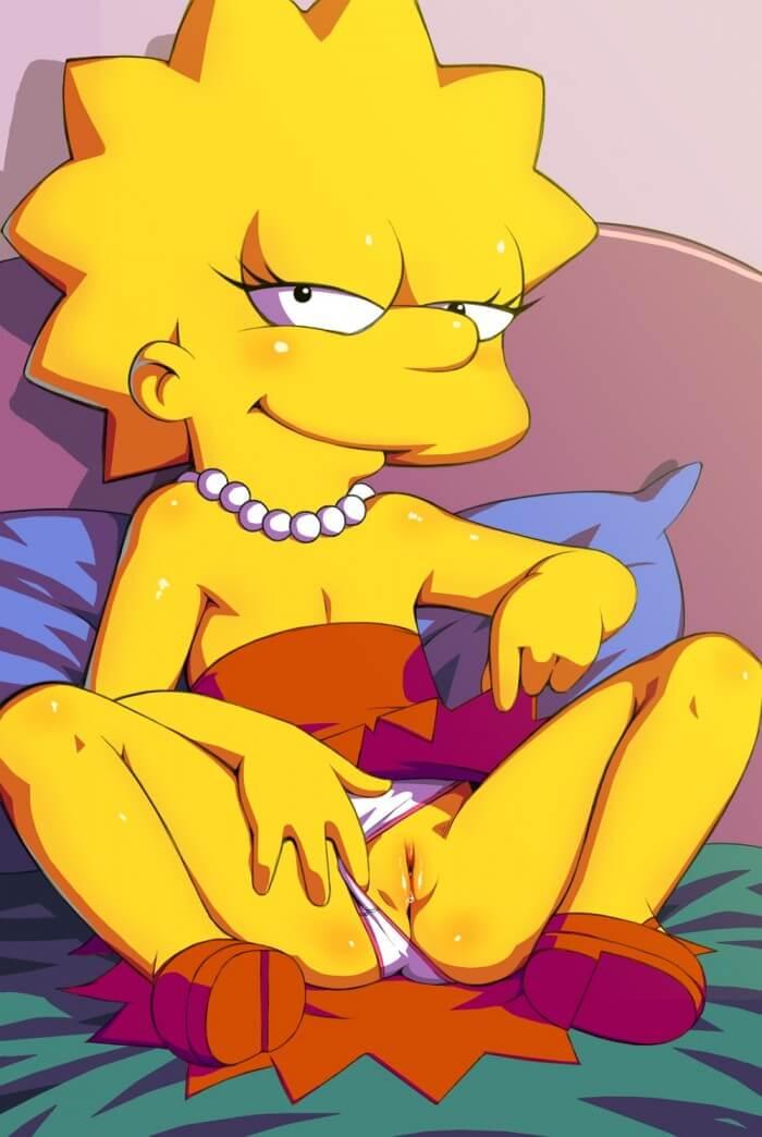 Бестыжая Lisa Simpson