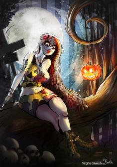 Красавица Хэллоуина