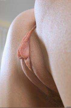 Женская киска крупным планом