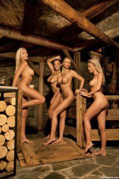 Роскошные голые девушки
