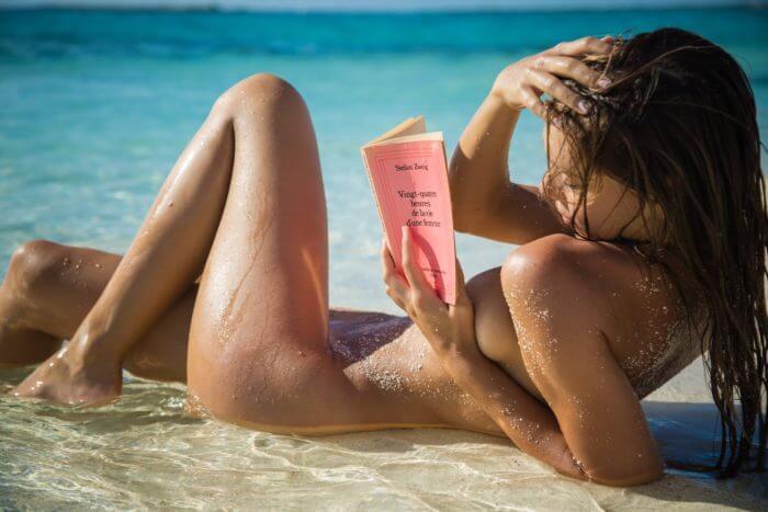 Эротика на пляже