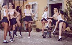 Распутные школьницы от Playboy
