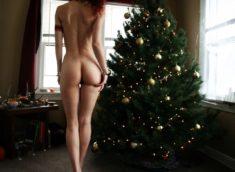 Домашняя эротика на новый год