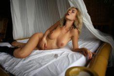 Страстная Stasy Q в постели