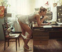 Забавная эротика от Davida Dubnitskiy