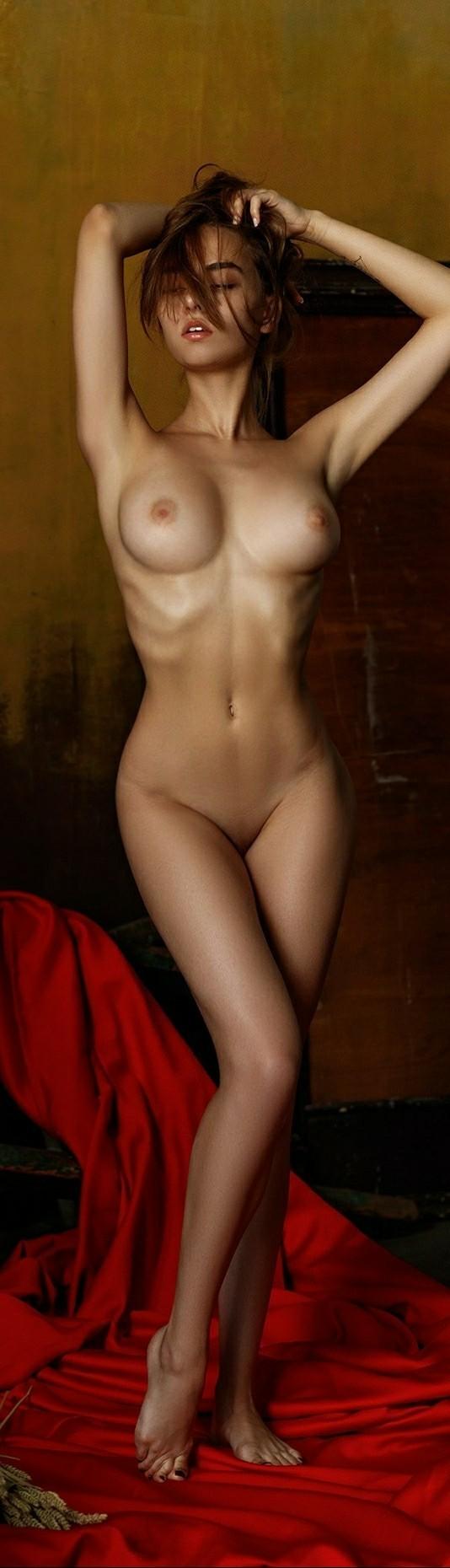Красота голой девушки