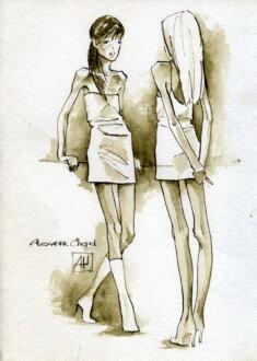 Две красавицы