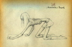 Анорексичные девушки Александра Чепеля